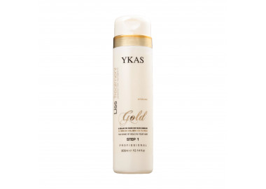 Ykas Gold Realinhamento Capilar Shampoo 300 ml